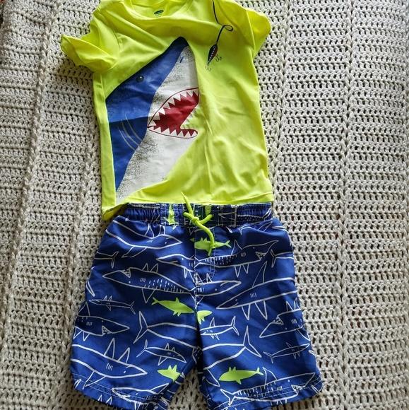Carter's Other - Boys swim suit set